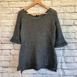 TOPSHOP Lightweight Cosy Gray Sweater